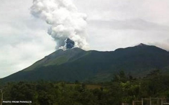 Major quake or major eruption alert Kanlaon Volcano Philippines  Kanlaon