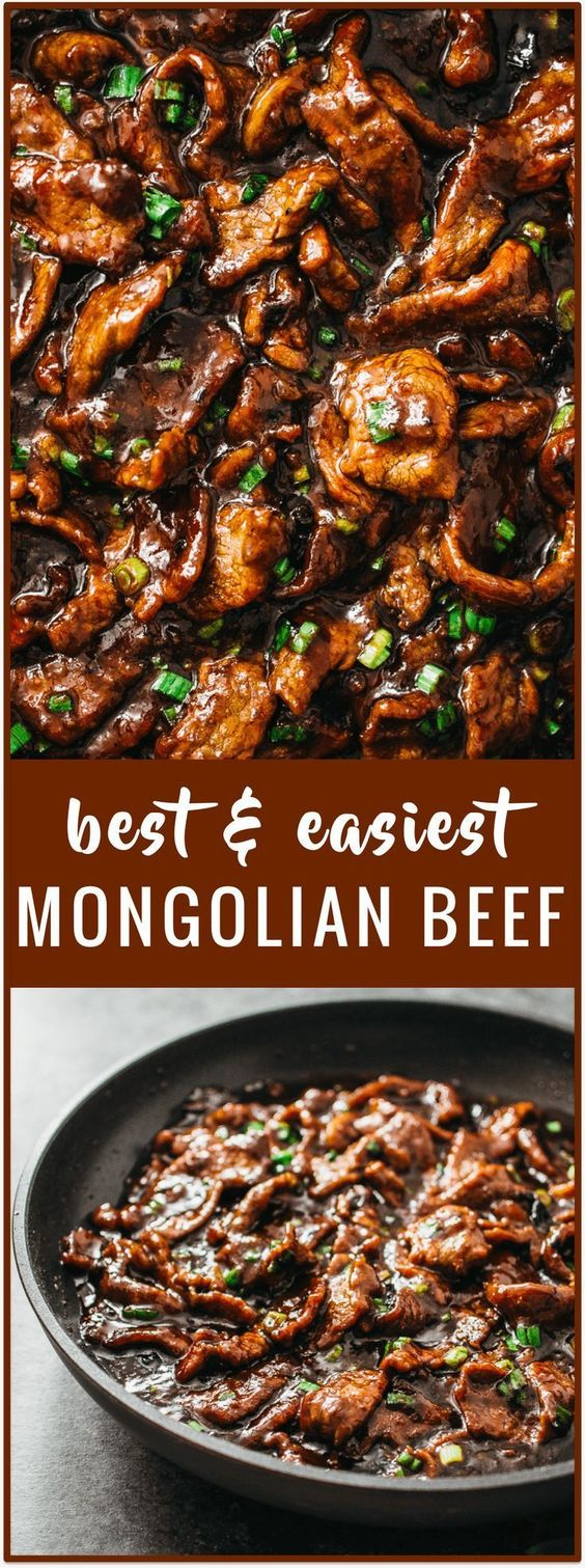 Mongolian Beef Recipe (PF Changs Style)