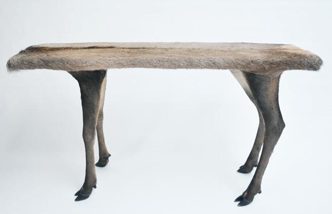 Stuffed Livestock Furnishings From Italy's Armin Blasbichler Studio