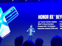 Honor 8X, Dengan Teknologi Anti Shake Memori 128 GB Harga Rp 4 Jutaan