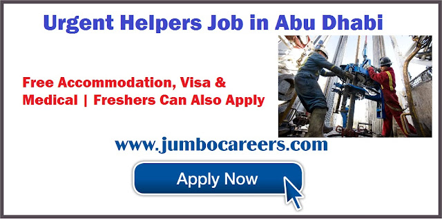 Urgent Helpers Job in Abu Dhabi
