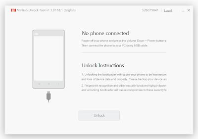 Unlock Xiaomi Bootloader