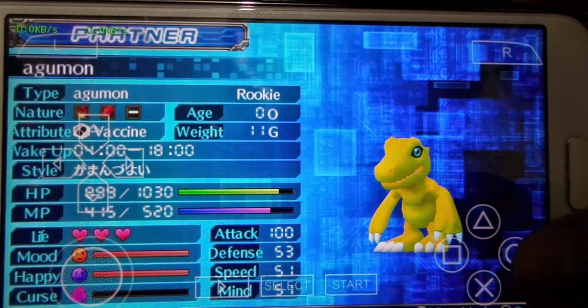 💋 Download save data digimon world re digitize ppsspp