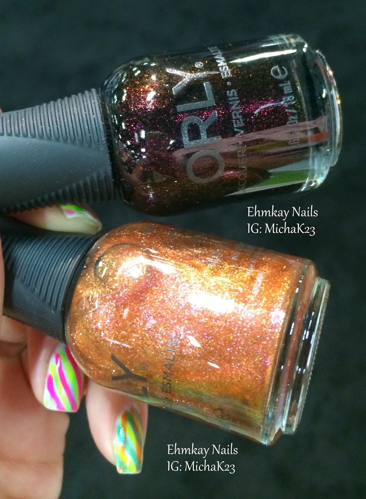 Orly Preview In The Mix Fall Winter 2015 Nail Polish: Ehmkay Nails: Cosmoprof NALV 2014 Previews