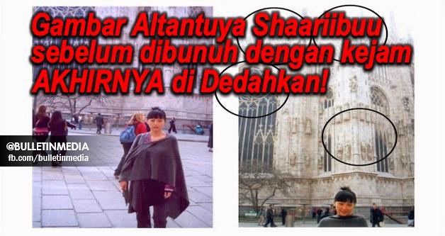 Koleksi Gambar Altantuya Shaariibuu sebelum dibunuh dengan kejam di Malaysia...