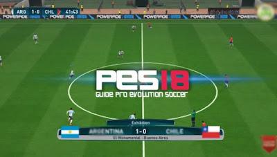 Download PES 2018 v2.3.1 Mod Apk