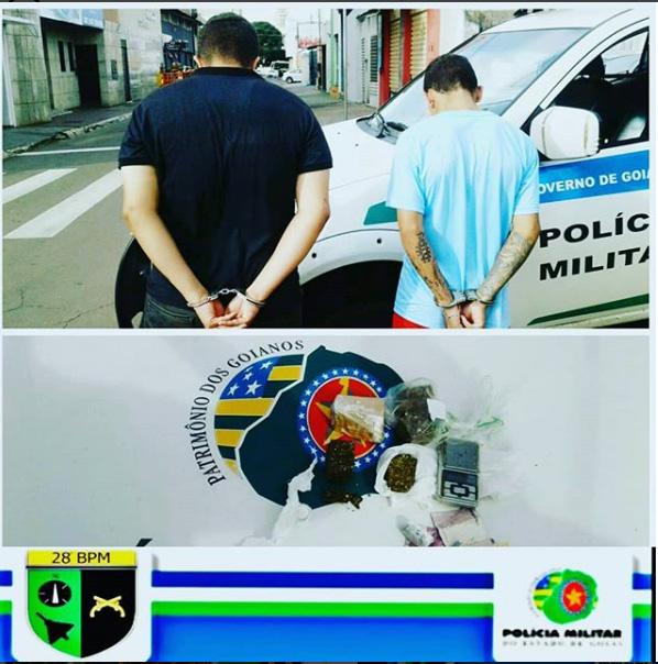Anápolis: Polícia recupera veículos roubados e prende traficantes