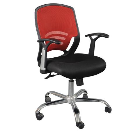 Lưng ghế lưới văn phòng có thể uốn cong theo đường cong, ôm sát cơ thể người ngồi mang lại cảm giác dễ chịu