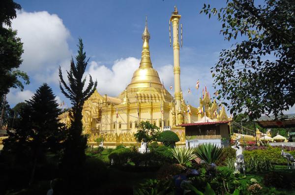 Taman Alam Lumbini di Berastagi, Sumatera Utara