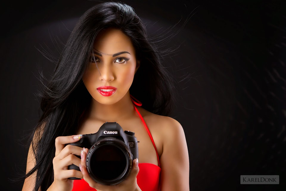 Sexy girls on camera
