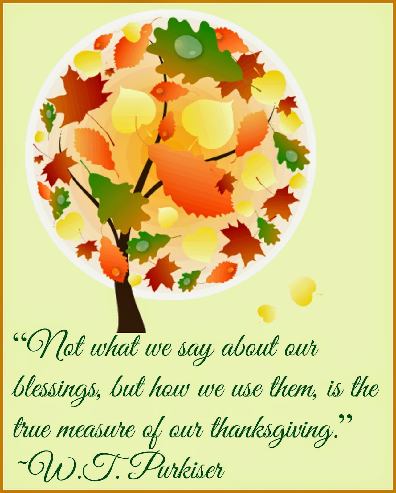 Give Thanks - Give Love - Thanksgiving