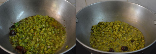 how to make beans kootu