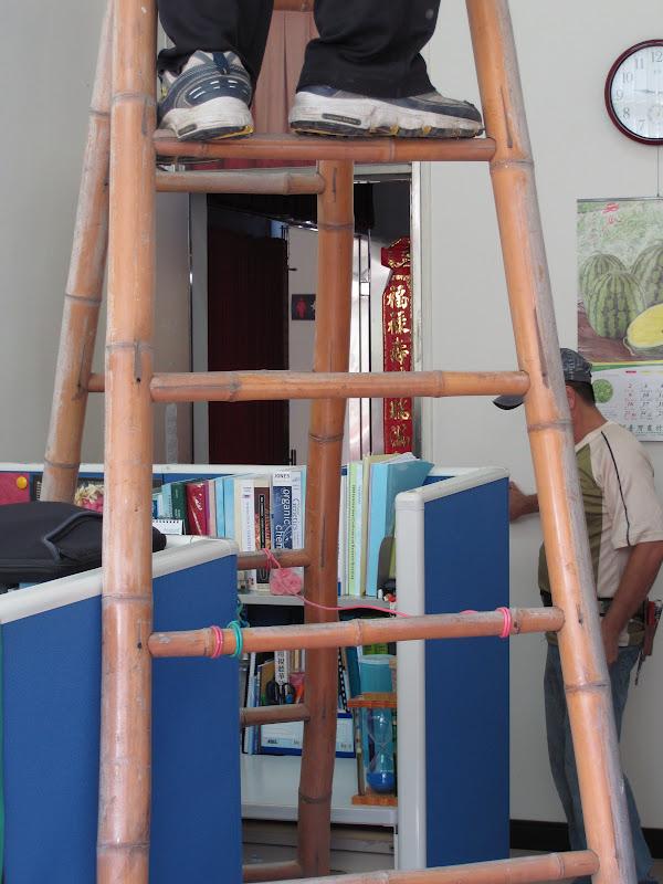 Estudiando agricultura en taiw n usos del bamb escalera - Escaleras de aluminio baratas ...
