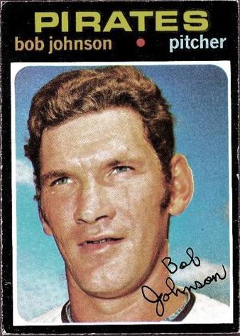 1971 Baseball Card Update Bhnh Akabig Head No Hat