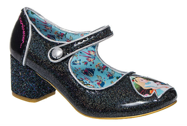 Irregular Choice Disney Alice In Wonderland tick tock black