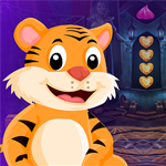 Games4King Tiger Rescue Walkthrough