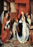 Anunciação -  Gênios da pintura ~ Gótico