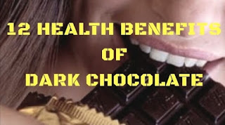12 health benefits of dark chocolate