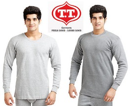 TT Thermal Winter Wear- Flat 15% + Extra 35% Off (Thermal Vest worth Rs.315 for Rs.173 Only | Thermal Trouser worth Rs.325 for Rs.179)