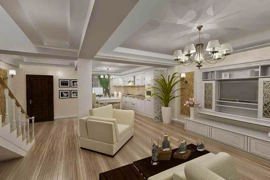 Design - interior - living - casa - clasica