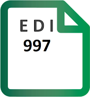 EDI 997 Functional Acknowledgement transaction set specification format