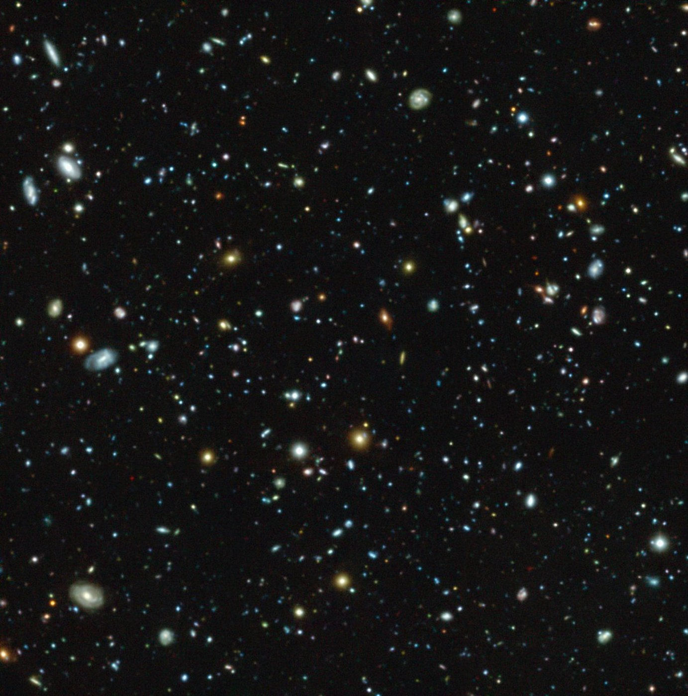Image: View of the Ultra Deep Field survey via ESO/MUSE HUDF Collaboration