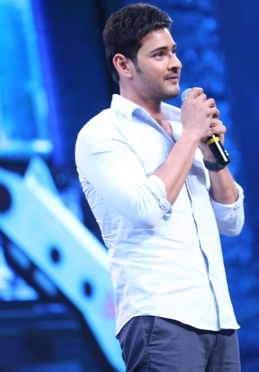 Mahesh Babu in White Shirt