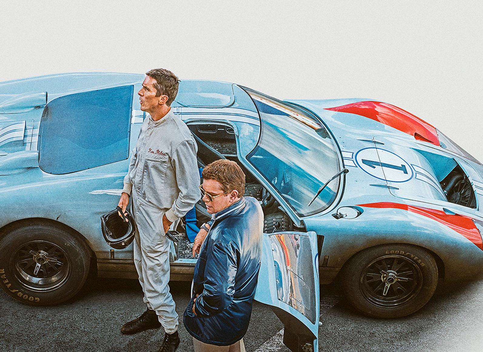 Le Mans '66 | Ford v Ferrari | Matt Damon and Christian Bale
