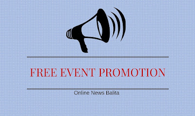 Free Event Promotion and Advertising Philippines | Online News Balita