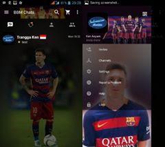 BBM Mod Tema Barcelona FC 3.2.0.6 Android 2017