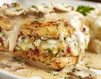 Tiffany S Recipes Olive Garden S Stuffed Chicken Marsala