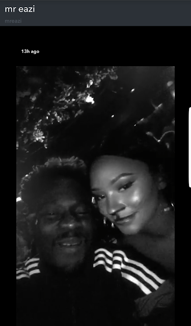 Temi Otedola scores boyfriend, Mr Eazi 1billion points for welcoming her at the airport with a soy latte