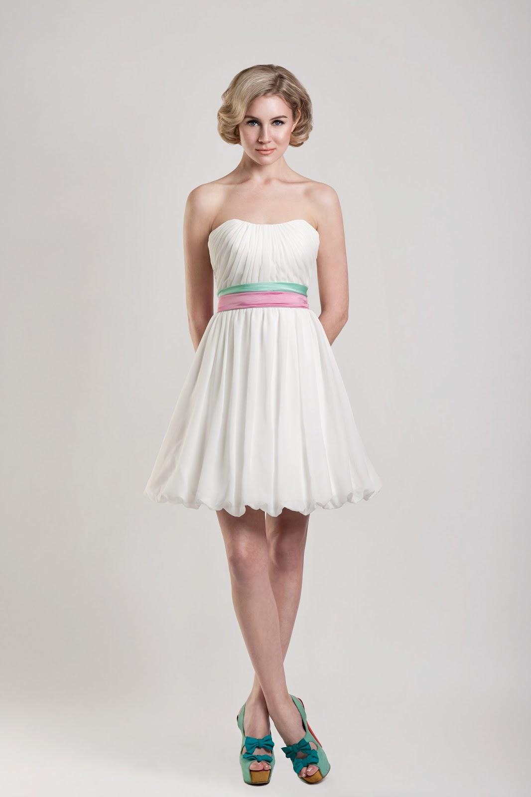 5 cute short wedding dresses for summer white casual wedding dresses 5 Cute Short Wedding Dresses for Summer Casual Weddings