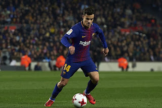 BREAKING! PSG Submit £239m Bid To Sign Philippe Coutinho From Barcelona