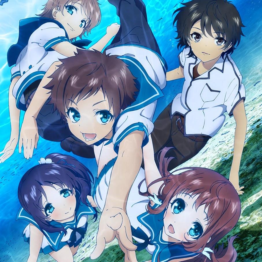 Nagi no Asukara Anime Reviews | Anime-Planet