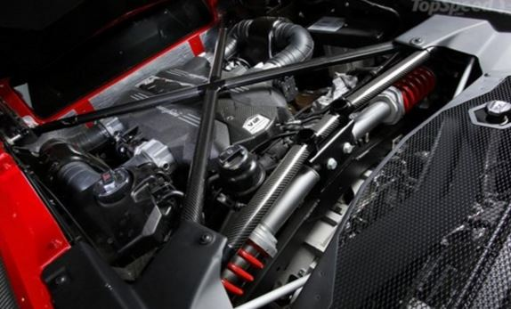 2019 Lamborghini Asterion Engine