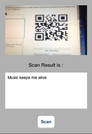 iCoding: How to use Barcode Scanner (BR and QR) in iPhone