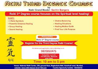 Reiki third degree course (3A)