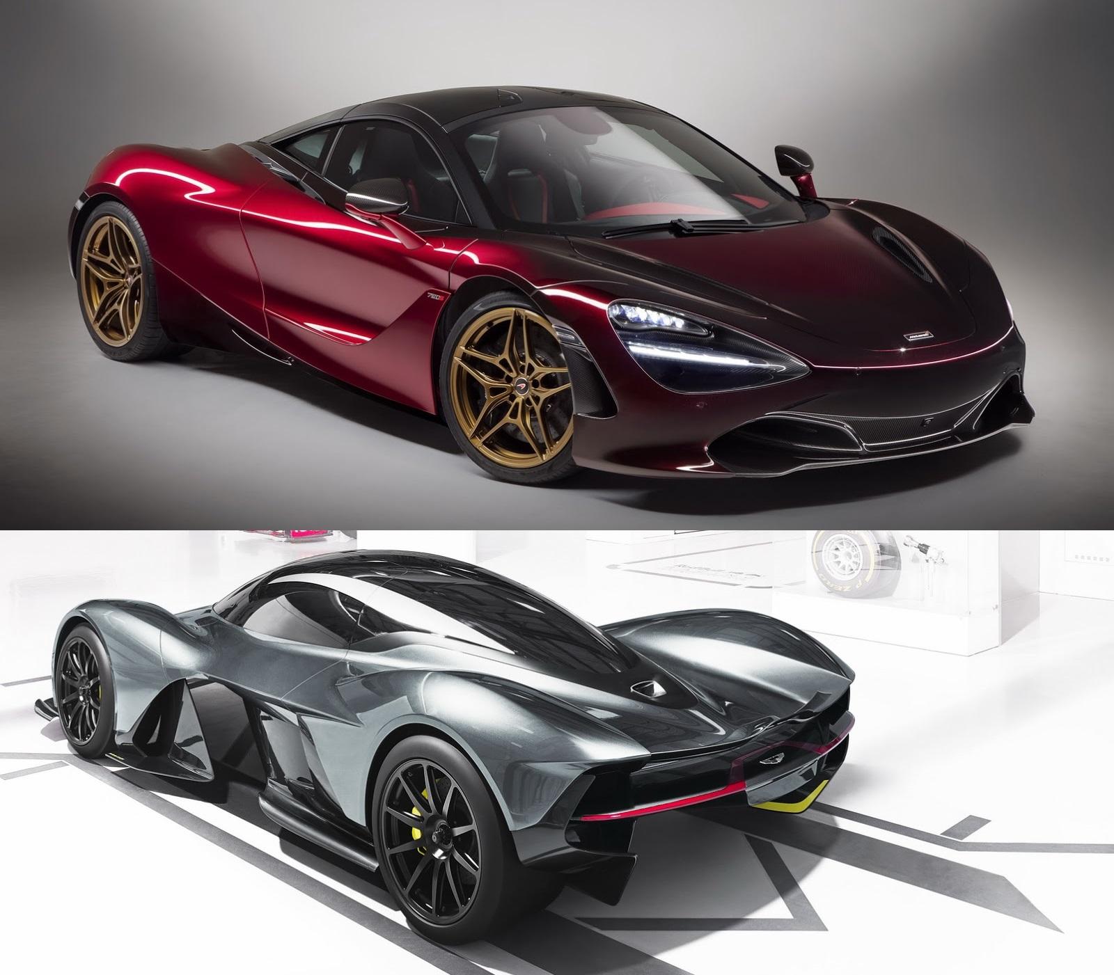 Aston Martin Valkyrie Should Generate A McLaren 720S Rival