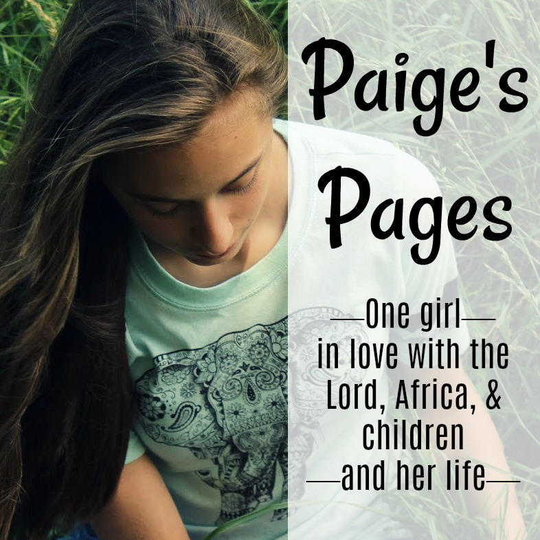 grab button for Paige's Pages