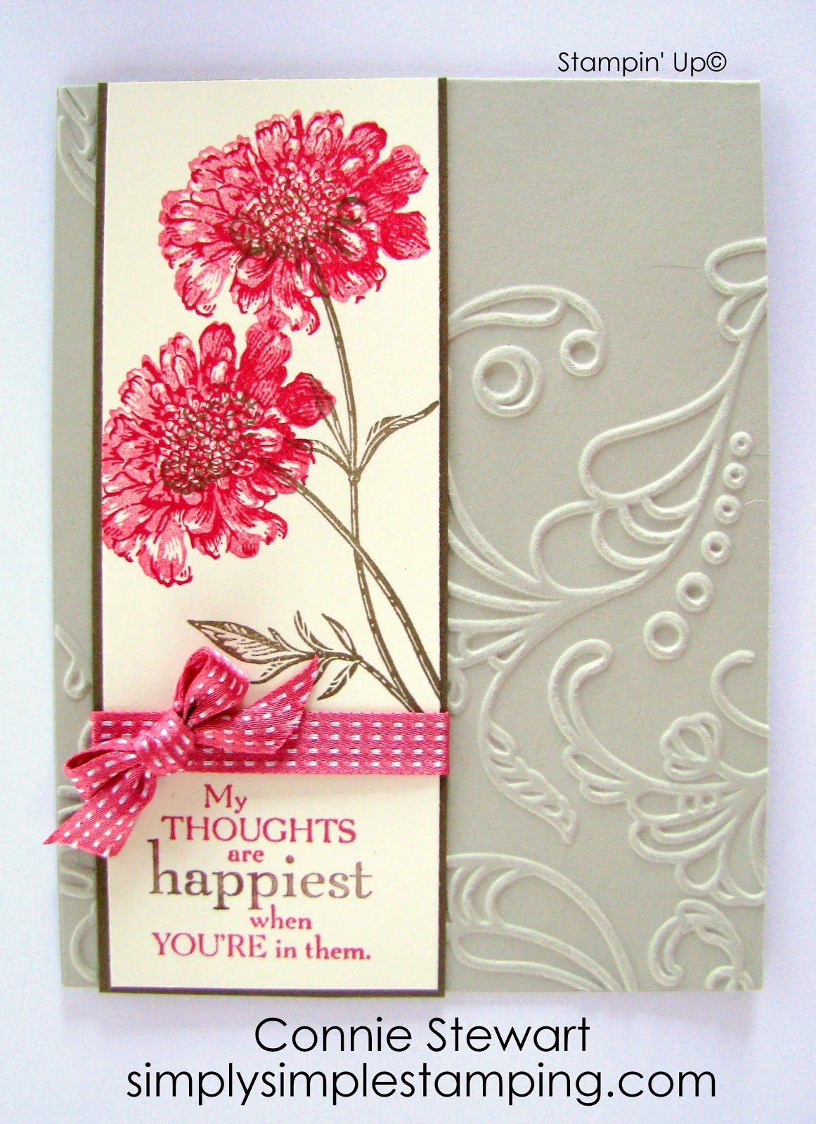 Color Me Beautiful Challenge Cmbc Simply Simple Stamping