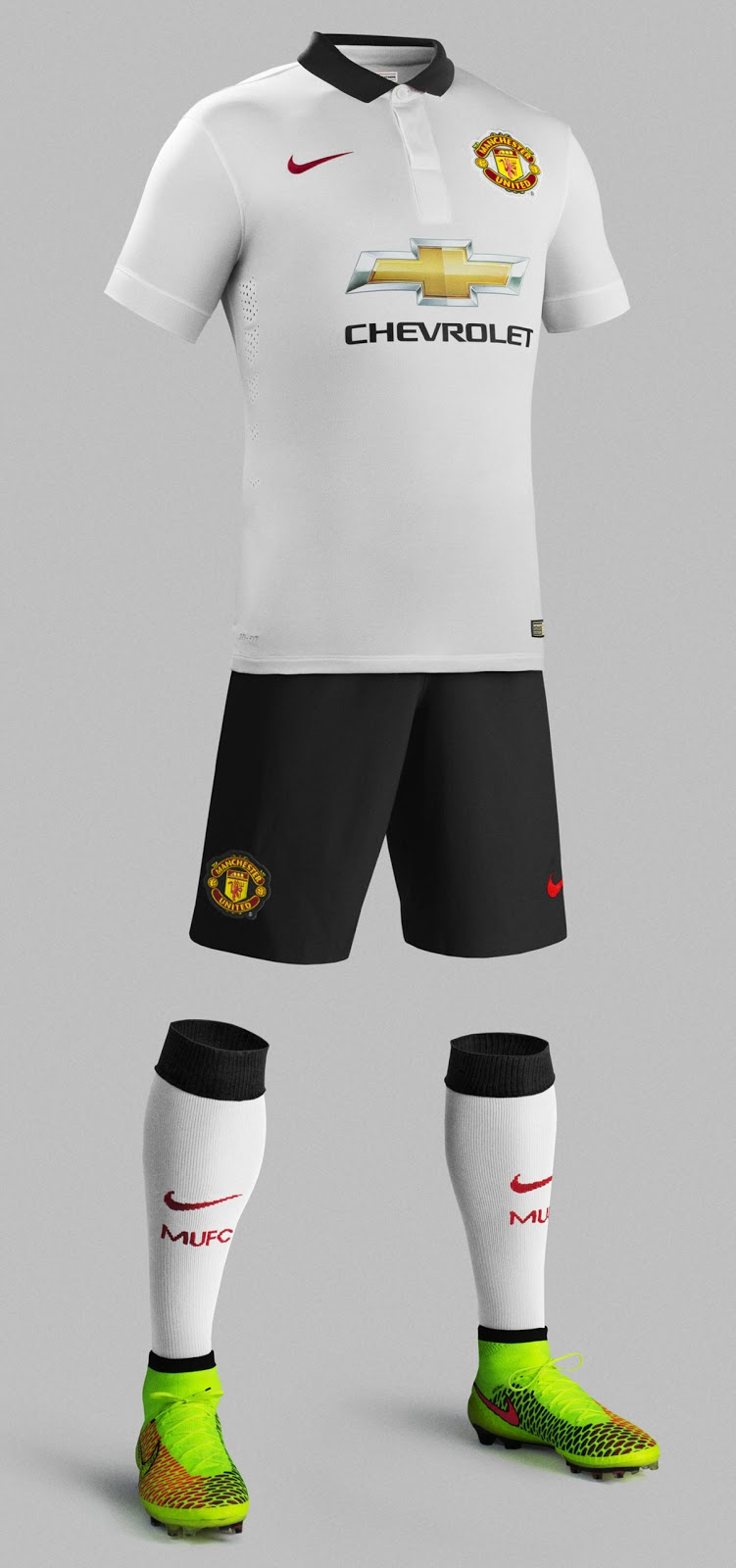 2ef772890c4 MANCHESTER UNITED 14-15 AWAY KIT. This is the new ...