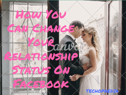 How you can change your relationship status on Fb