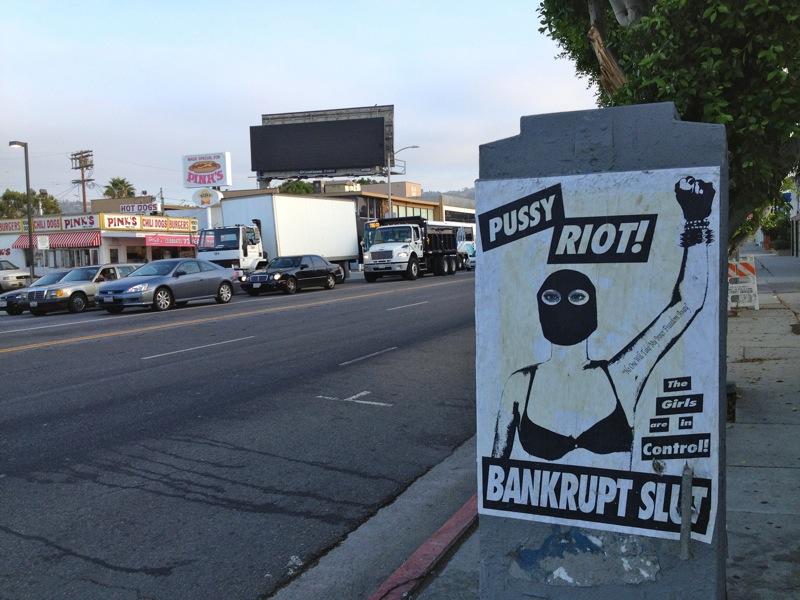 Pussy riot ar inte slut