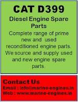 CAT D399, Diesel Engine Parts, Propulsion engine spare parts, plungers, Cylinders, valve, connecting rods, piston, rings, gasket, seals, pump, bearing,shaft, liner, crankshaft, camshaft, gears
