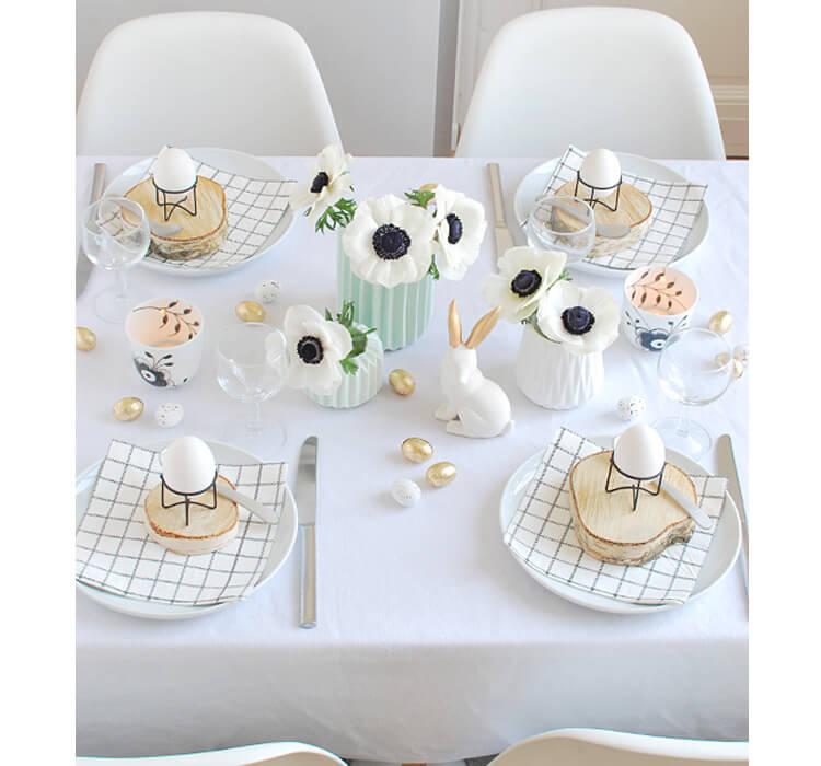 Come scegliere il colore con cui decorare la tavola di Pasqua