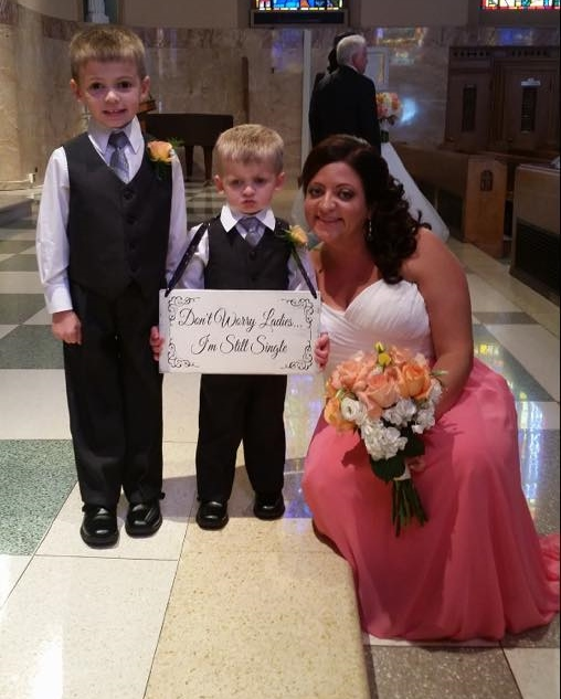 ring-bearer-sign