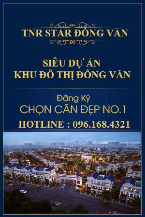 Khu đô thị TNR Star Đồng Văn