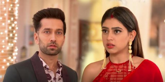Mindblowing Twist : Mannat's wifey avatar eyeing Shivaansh's romantic filmy scene in Ishqbaaz