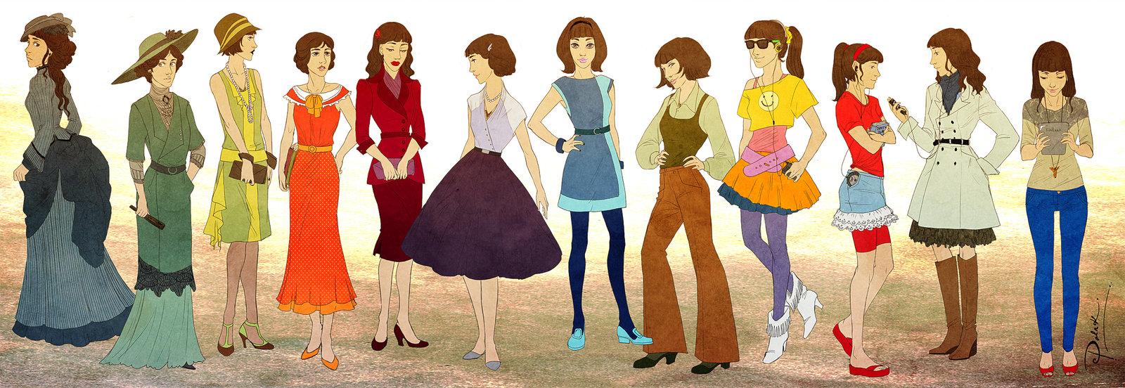 5570b7e7eb El papel de la mujer ha sido fundamental en la evolución de la moda.